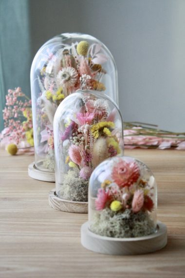 CLOCHES FLORALES